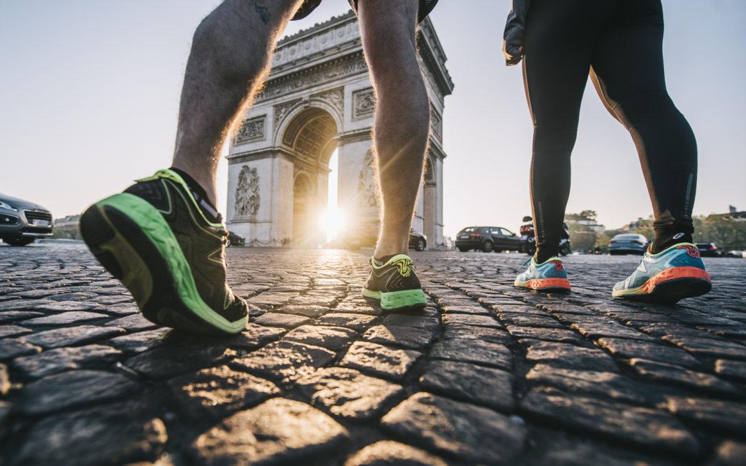 Shooting Asics Marathon de Paris