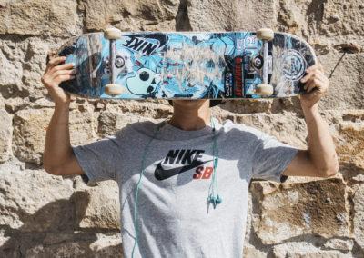 aurelien giraud skullcandy shooting photographe barcelone macba nicolas jacquemin skateboard incase xtreme video