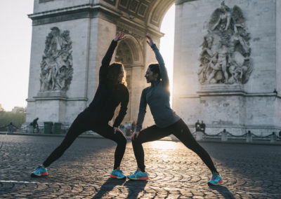 asics marathon de paris running sport arc de triomphe photographe sportif photo reporter nicolas jacquemin