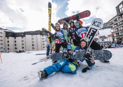 red bull tout schuss ski evenement 2 alpes photographe sport nicolas jacquemin la clef production