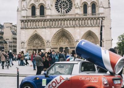 RED BULL ORGANICS LANCEMENT CAMPAGNE PARIS PHOTOGRAPHE REPORTAGE NICOLAS JACQUEMIN PARIS MONUMENT