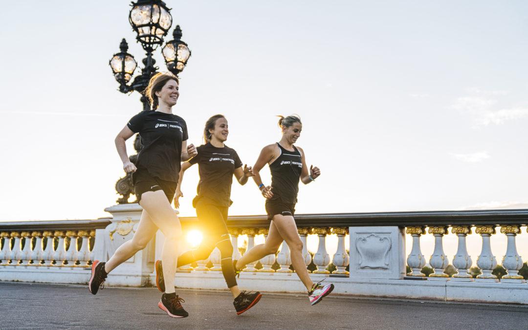 running paris photographe sport asics course - nicolas jacquemin