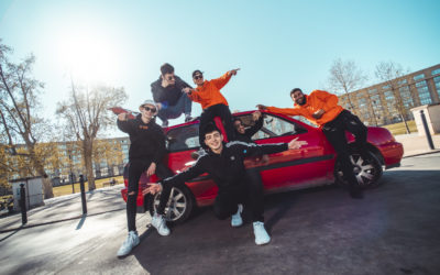 Shoot for Red Bull with ZAMDANE