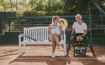 Shoot photo pour Paris 2024 / Tennis