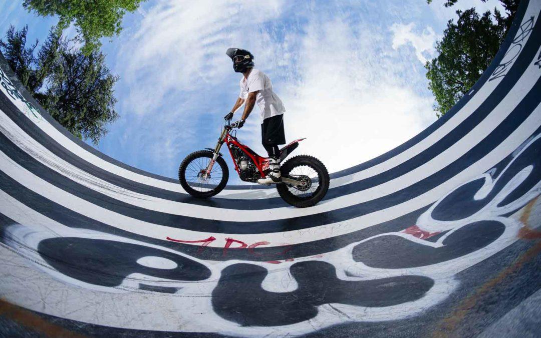 kenny thomas moto trial clever school photo paris nicolas jacquemin
