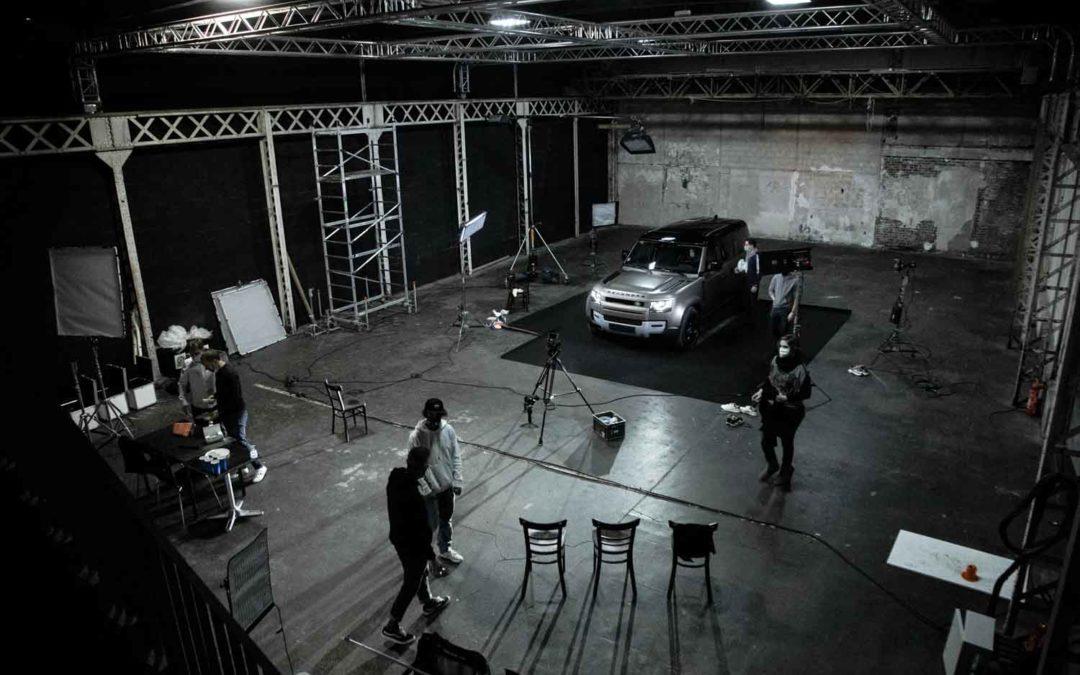 videaste paris social content land rover tournage